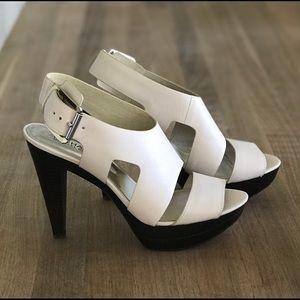 Michael Kors dress sandal, ivory, 8